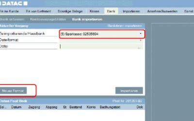 Bank importieren – Dateiformate selbst erstellen