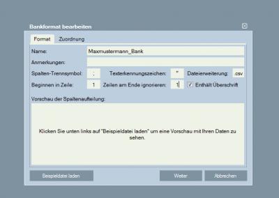 DATAC24-Bankimport 2